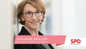 Susanne Müller - SPD Landtagskandidation für den Wahlkreis 13